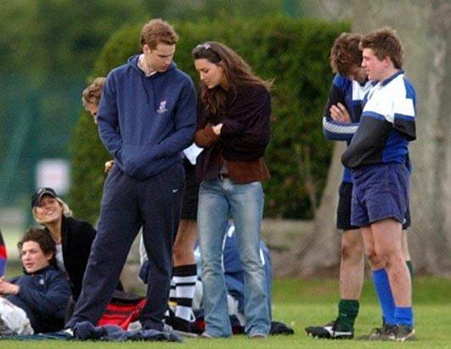 İşte tam o sırada tanışıyor hayatının aşkıyla; yani Kate Middleton'la!