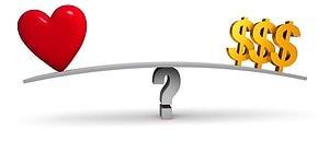 Тест: Что на подсознательном уровне для вас важнее - любовь или деньги?