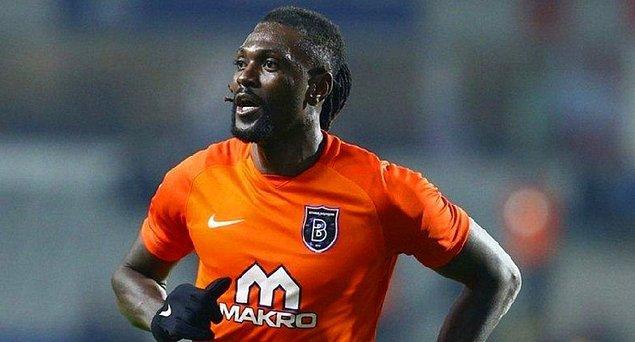 22. Emmanuel Adebayor  / Kulüpsüz ➡️ Göztepe