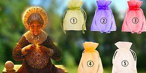 Тест: Выберите мешочек и получите подарок от мудрой бабушки