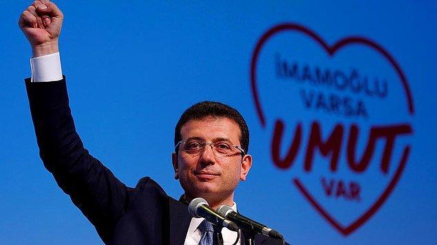 İmamoğlu, İstanbul İl Seçim Kurulu'na gelerek mazbatasını aldı.