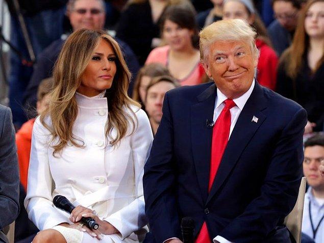 4. Peki Amerika'nın şimdiki First Lady'si Melanie Trump'ın eski mesleğini de söyle bakalım?
