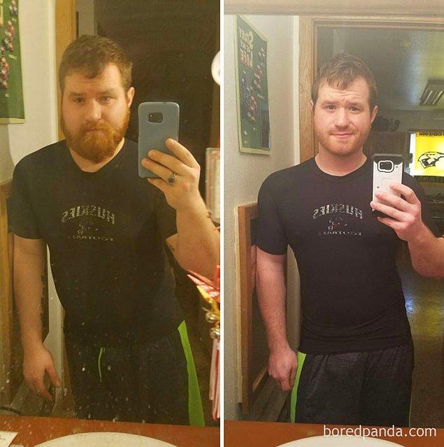 Фото, доказывающие, как сильно меняется человек, когда бросает пить