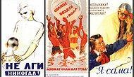 Правильная агитация: Подборка плакатов времен СССР, которая заставит задуматься даже современников