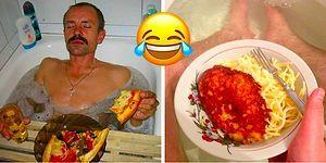 Странные фото русских с едой в ванной, которые вызовут недоумение или рассмешат до коликов в животе