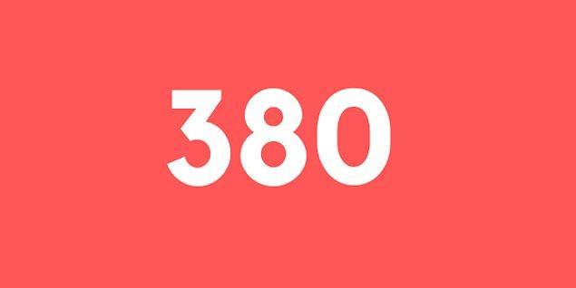 Üniversite sınav sonucun 380 puan!