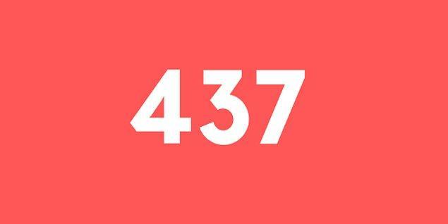 Üniversite sınav sonucun 437 puan!