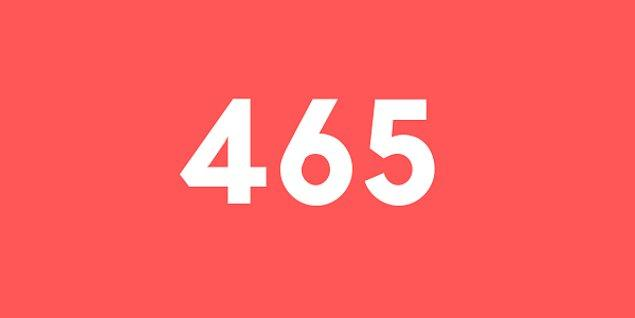 Üniversite sınav sonucun 465 puan!