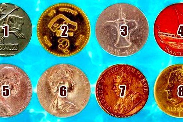 Тест: Загадайте желание и выберите волшебную монетку, чтобы узнать, сбудется ли оно
