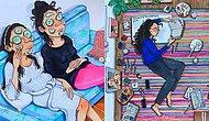 20 иллюстраций о том, как на самом деле ведут себя люди, когда их никто не видит