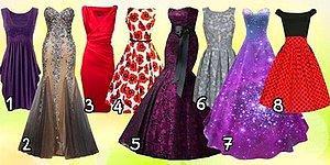 Выберите платье и узнайте, какой этап в жизни вы сейчас переживаете