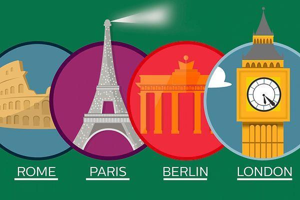 Тест: Вы настоящий полиглот, если сможете выбрать правильный вариант написания столиц на английском языке