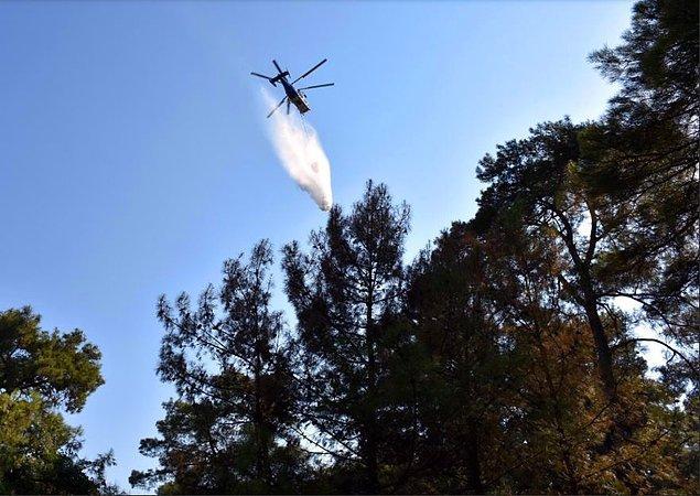 'Helikopterler kara ekibinden sonra gelir'