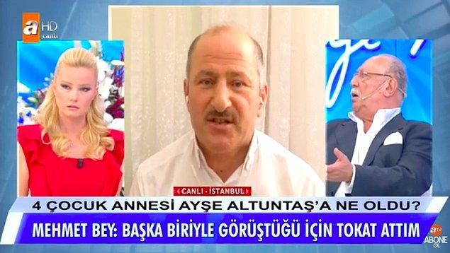 Aynı zamanda Mehmet Altuntaş, Yılmaz isimli bir erkekle görüşen Ayşe Altuntaş'a geçmişte şiddet uygulamış.