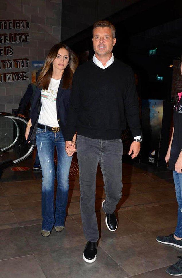 Emina Jahović boşanmanın ardından, mutluluğu iş insanı Sadettin Saran'da bulmuştu.