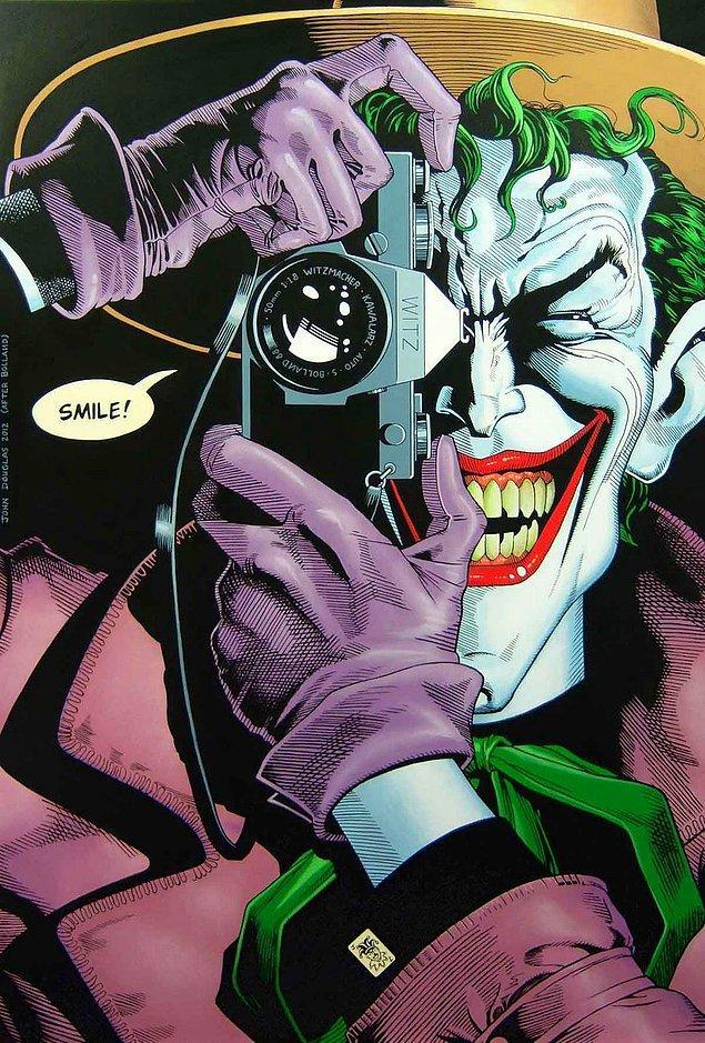 6. Filmin hikayesi, başarısız bir stand-up komedyenini anlatan Batman: The Killing Joke çizgi romanından geliyor.