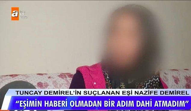 Bu iddialara cevap veren Nazife Demirel de eşinin kendisinin pavyonda çalıştığını, neler yaptığını bildiğini söyledi.