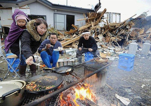 1. Japonya'da 'yağmalama' diye bir terim yok.