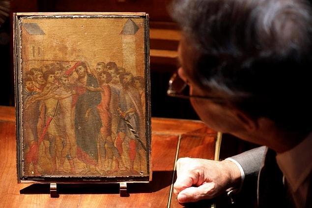 Картина, которая годами висела на кухне у пожилой женщины, была продана за 24 миллиона евро