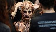Хайди Клум снова поразила всех своим безумным костюмом на Хэллоуин