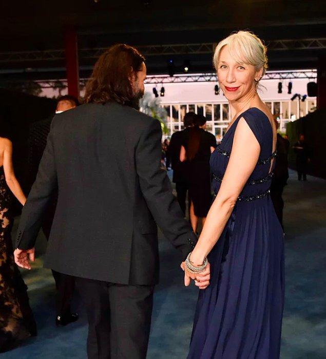 Fakat Alexandra ile bütün gözlerin üzerlerinde olduğu LACMA Art Film Festivali'nin galasına el ele katıldılar.