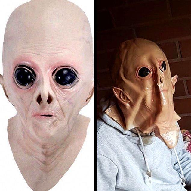 15. Beklenenden daha korkunç bir maske geldiği kesin!