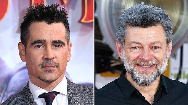 7. Matt Reeves'in yöneteceği The Batman filmine Colin Farrell; The Penguin rolüyle, Andy Serkins ise Alfred Pennyworth rolüyle katılmak üzere.