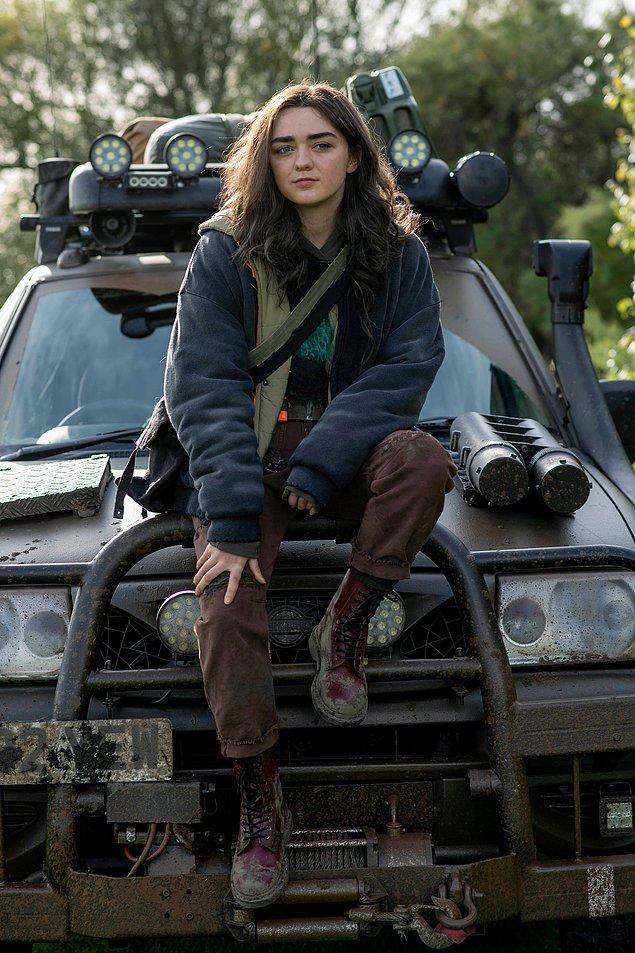 8. Game of Thrones dizisindeki Arya Stark rolüyle adını geniş kitlelere duyuran Maisie Williams'ın başrolünde yer aldığı Two Weeks to Live dizisinden ilk görsel yayınlandı.