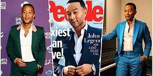 Джон Ледженд признан самым сексуальным мужчиной 2019 года