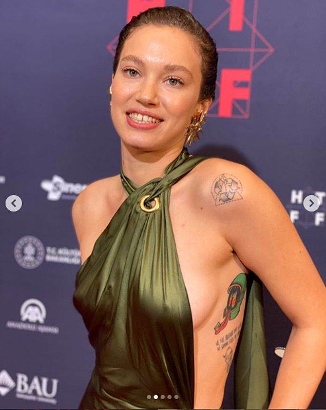 Şimdi de yine Kerem Bürsin'in kendisi gibi oyuncu olan Melisa Şenolsun'la yakınlaştığı iddia edildi.