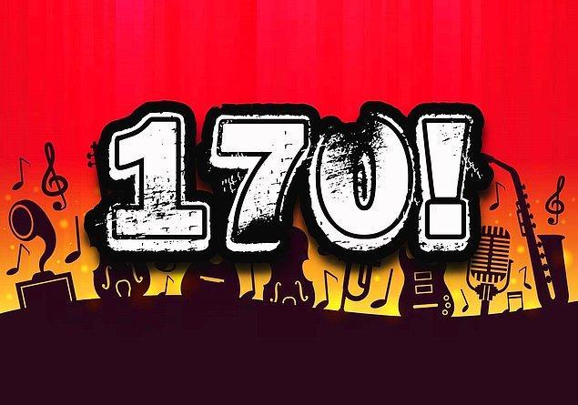Müzik IQ'n 170 çıktı!