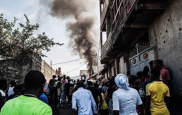 Şirket, Beni kentine gitmek üzere havalandıktan kısa süre sonra düşen uçakta 16 yolcu ve iki kişilik mürettebat bulunduğunu belirtti.