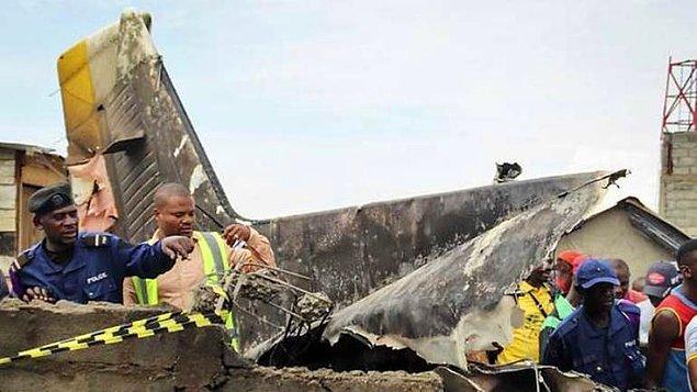 Birleşmiş Milletler İstikrar Misyonu (MONUSCO), kaza yerine 2 itfaiye aracı ve bir kurtarma ekibi gönderdi.