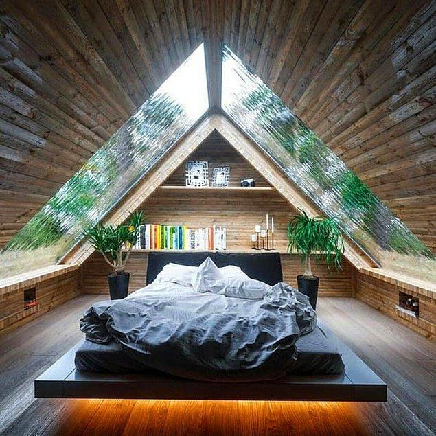 12. Dünyanın en güzel yatak odası diyebilir miyiz?