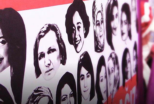 10. Türkiye'de erkekler tarafından işlenen kadın cinayetleri.