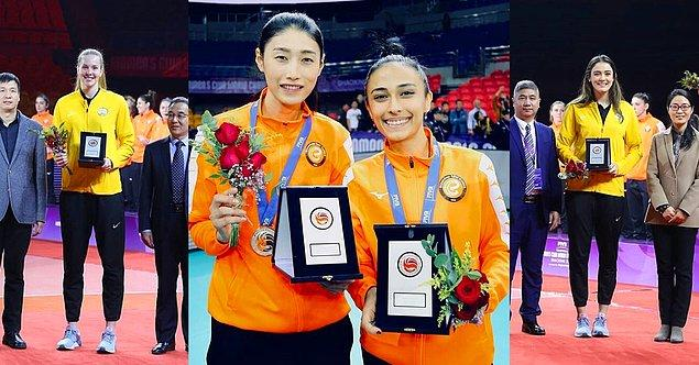 Şampiyona sonunda en iyi oyunculardan seçilen Rüya Takımı'na ise Vakıfbank'tan Isabella Haak ve Zehra Güneş seçilirken, Eczacıbaşı'ndan da Kim Yeon Koung ve Simge Aköz seçildi.