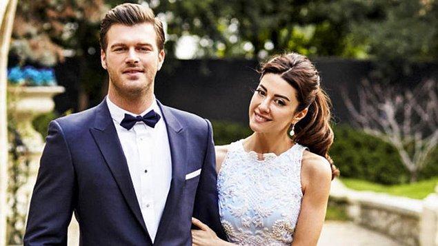 5. Tarkan'dan sonra Kıvanç Tatlıtuğ'u da kaybettik :)) Şaka bir yana modacı eşi Başak Dizer ile çok tatlı bir çift oldular. Çift 2016 yılının Şubat ayında Paris'te evlendi.