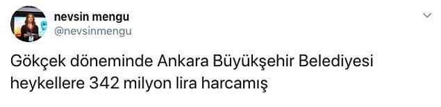 Melih Gökçek'in meşhur dinozorları ve Mansur Yavaş'ın haklı çıkışı sosyal medyada da gündem oldu. İşte o paylaşımlar...