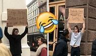 Смышленый парень, который открыто протестует против тех вещей, которые бесят почти всех