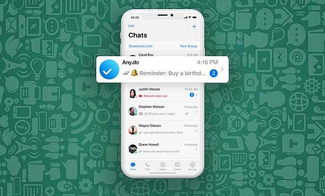 WhatsApp запустил платную функцию напоминания