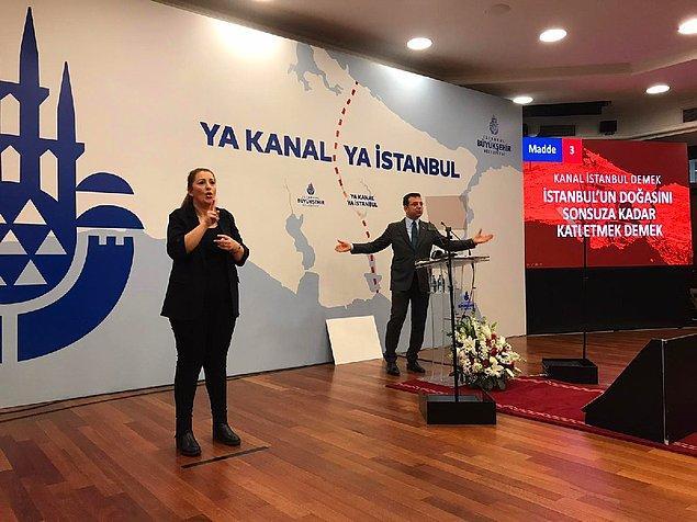 'Kanal İstanbul bir cinayet projesidir. Felaket projesidir'