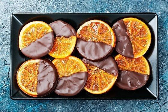 Как приготовить карамелизированные апельсины в шоколаде на Новый год?