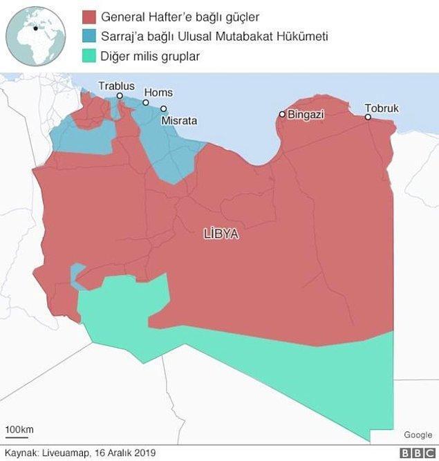 Libya'daki son durum ise şu şekilde 👇