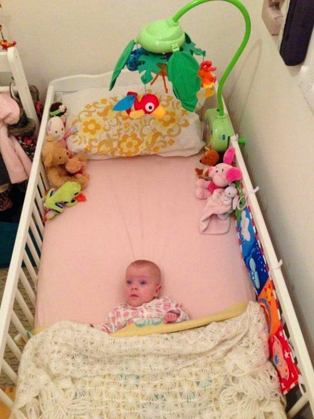Ve Edie tamamen normal bir bebek oldu!