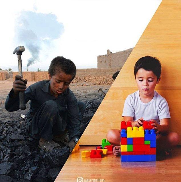 24. Celalabad yakınlarındaki bir kömür sahasında çalışan Afgan çocuklar...