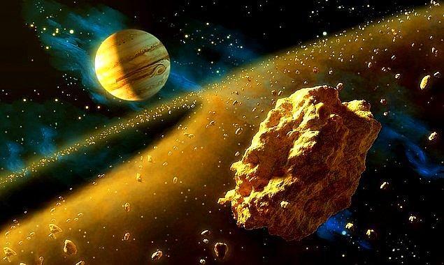 2. NASA, 'Psyche 16' adlı asteroitte 700 kentilyon dolarlık altın keşfetti. Asteroid üzerindeki kaynak tüm insanlara eşit olarak pay edilirse kişi başına 93 trilyon dolarlık bir meblağ düşüyor.
