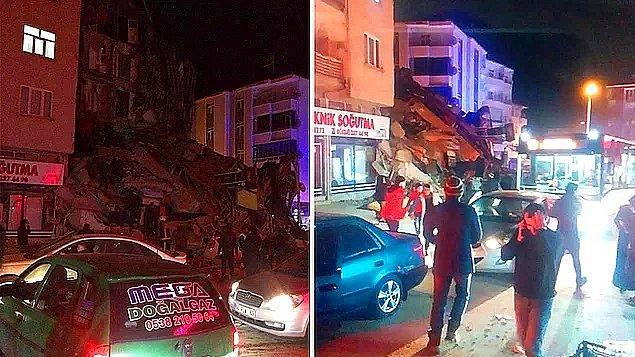 Dün akşam saatlerinde merkez üssü Elazığ'ın Sivrice ilçesinde meydana gelen 6.5 büyüklüğündeki depremde birçok bina yıkıldı ve halk sokağa döküldü.