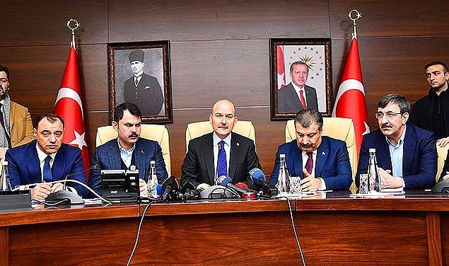 3. Elazığ merkezli olarak yaşanan ve 6,5 büyüklüğündeki depremin ardından, Elazığ Valisi Çetin Oktay Kaldırım'ın toplantıda 'Kamuoyunda da algı çok iyi' ifadesi, tepki çekti.