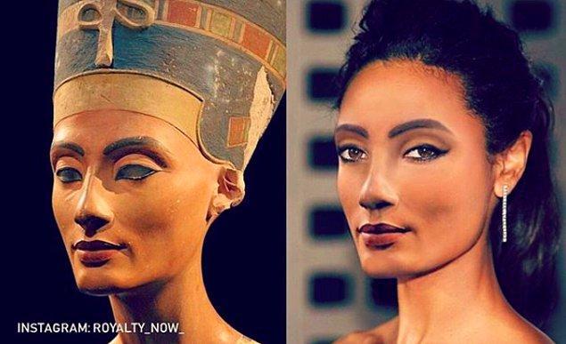4. Kraliçe Nefertiti