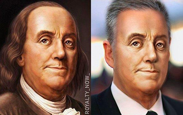 8. Benjamin Franklin